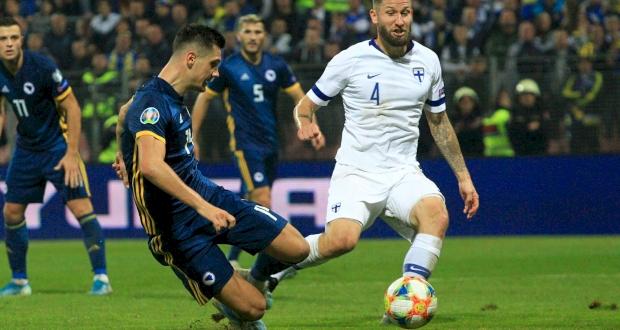 Босния и Герцеговина - Финляндия, twitter.com/UEFAEURO