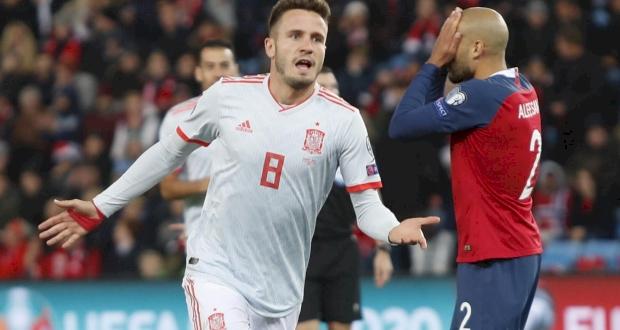 Норвегия - Испания, twitter.com/SeFutbol